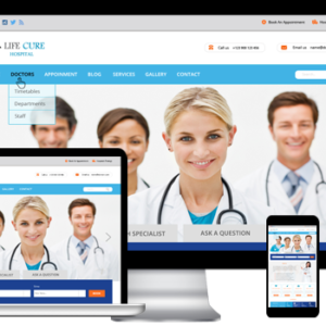 Free Hospital WordPress Theme