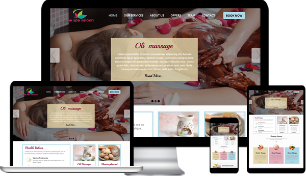 Salon Spa WordPress Theme