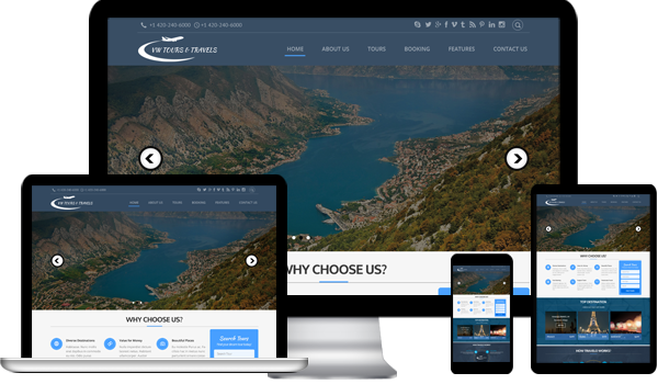 Best Travels WordPress Theme in 2017