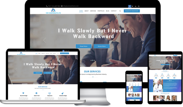 Corporate wordpress theme is vital for your reputed business maxwellsz