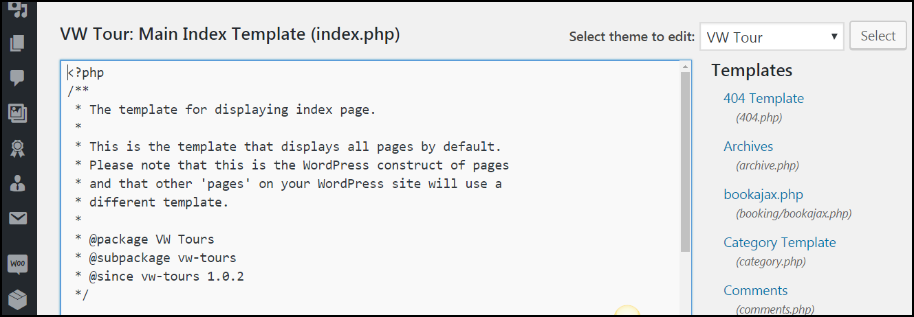 Index.php file