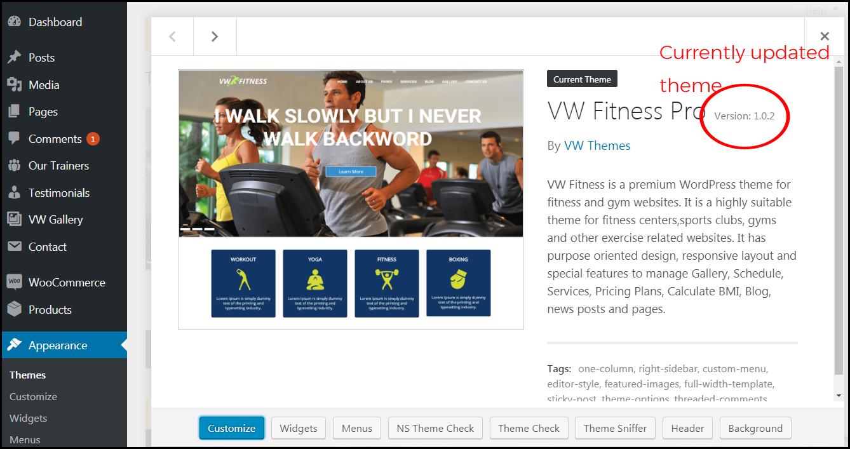 Updated WordPress Theme