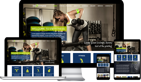 Responsive VW Fitness WordPress Theme