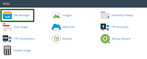 Upload Via Cpanel