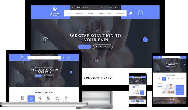 WordPress Website Theme For Physiotherapist