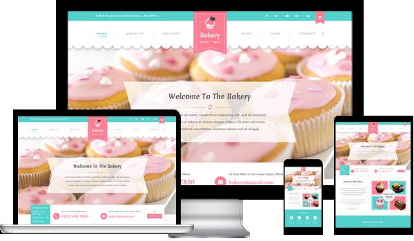 Best Bakery WordPress Theme 2020
