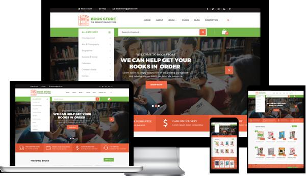 Best Book Store WordPress Theme 2020
