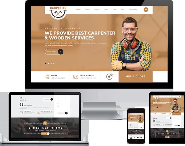 Best Carpenter WordPress Theme