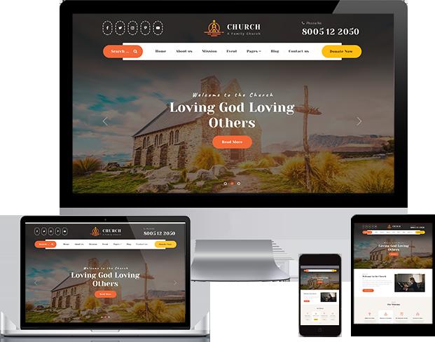 Best Church WordPress Theme 2020