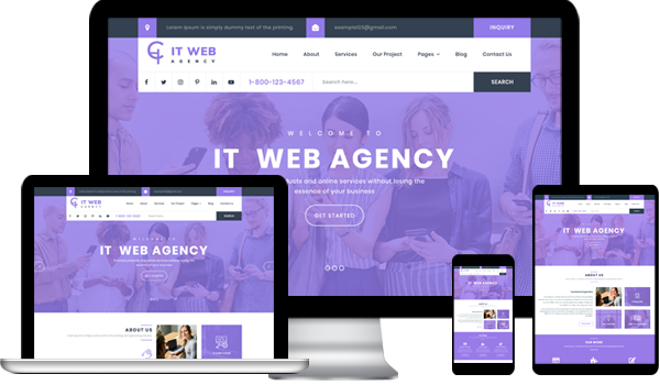 Best IT Company WordPress Theme 2020