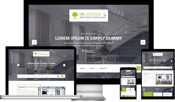 Best Interior Design WordPress Theme 2020