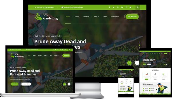 Best Landscaping WordPress Theme 2020