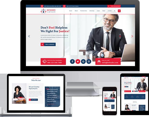 Best Law Firm WordPress Theme 2020