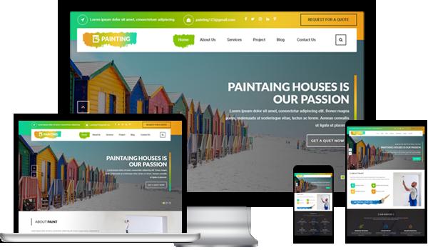 Best Painter WordPress Theme 2020