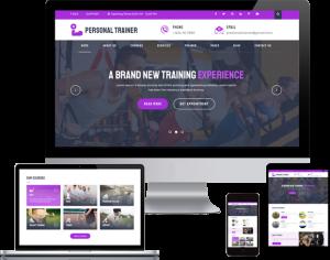 Best Personal Trainer WordPress Theme 2020