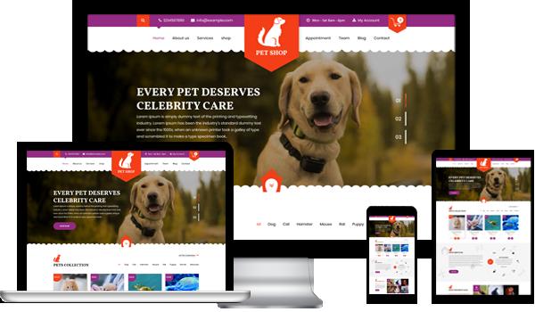 Best Pet WordPress Theme 2020
