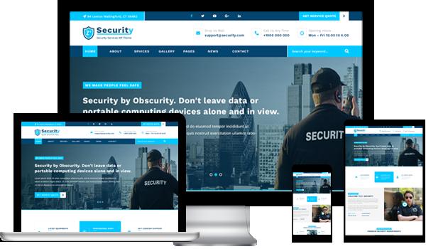 Best Security Guard WordPress Theme 2020