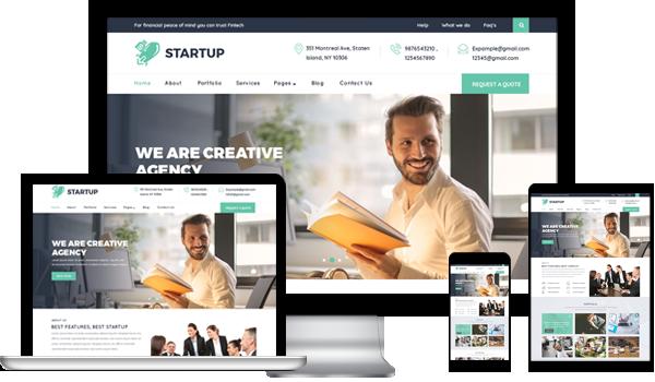 Best Startup WordPress Theme 2020