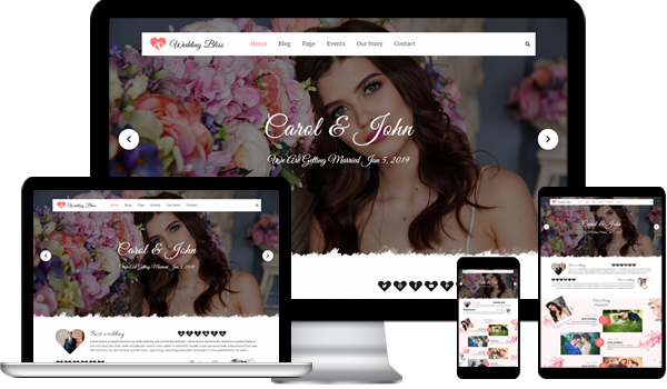 Best Wedding WordPress Theme 2020