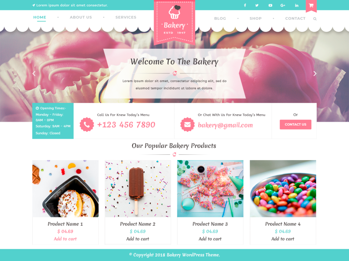VW Bakery Pro WordPress Website Themes