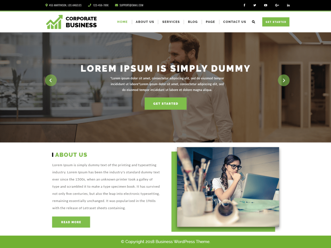 Top 20+ Ecommerce WordPress Theme For Business Theme