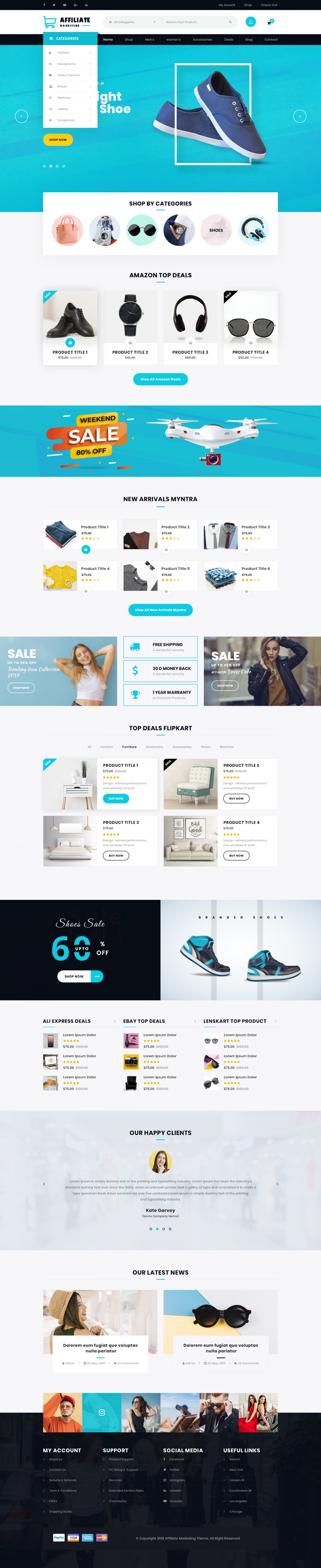 Affiliate Marketing WordPress Theme