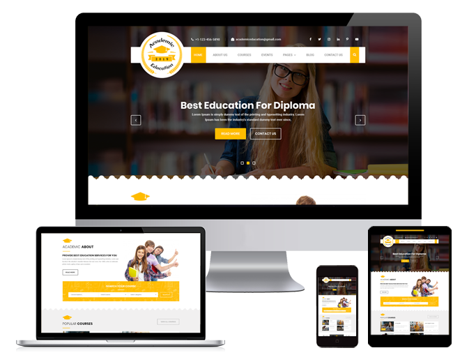 Top Gallery WordPress Themes for Academic