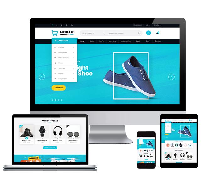 WordPRess Website Theme For Affiliate