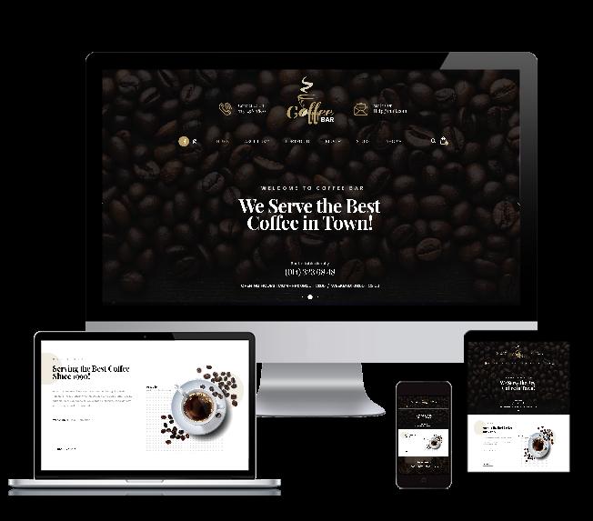 WordPRess Website Theme For Cafe
