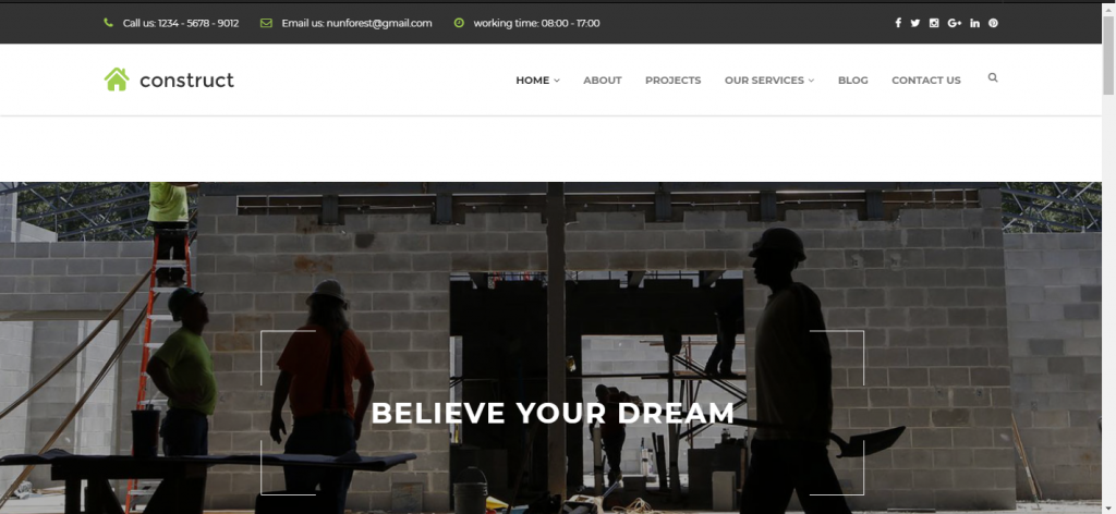 Best Construct WordPress Theme