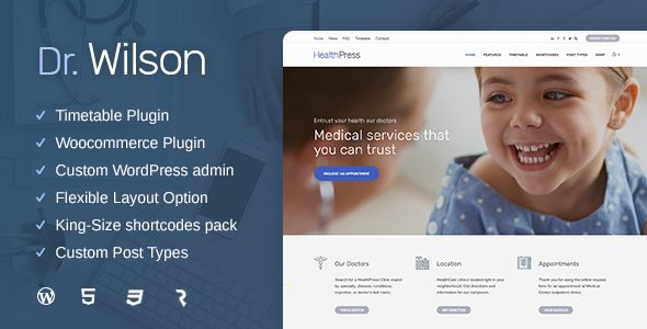 Best Medical Care WordPress Theme