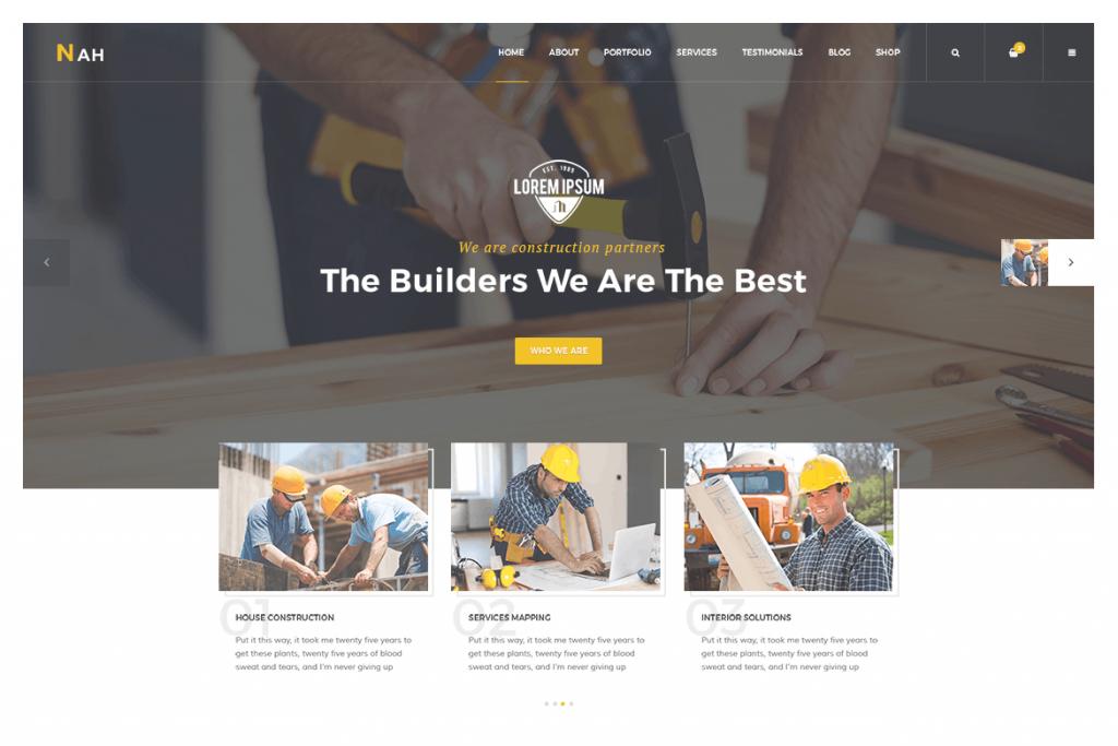 Best Builder WordPRess Themes