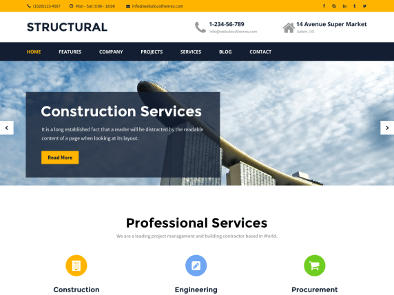 Best Structural WordPRess themes