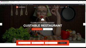 Gustablo WordPress Theme