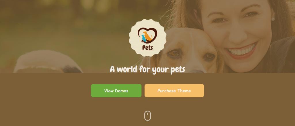 Top Pet World WordPress theme