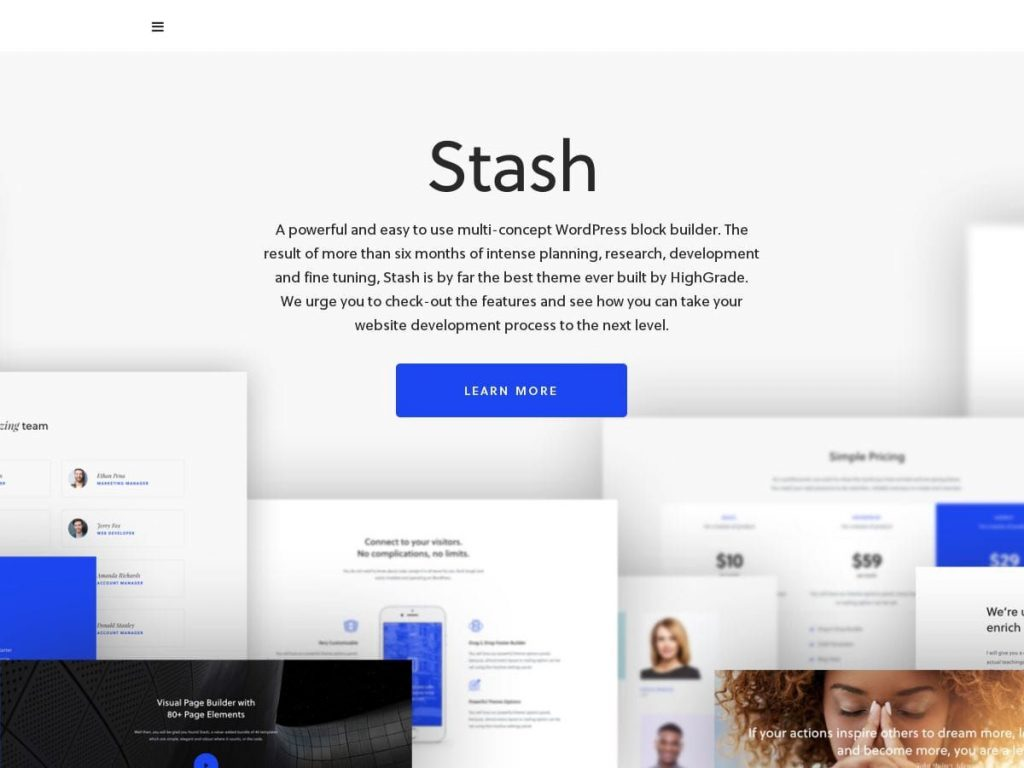 Stash WordPress Theme