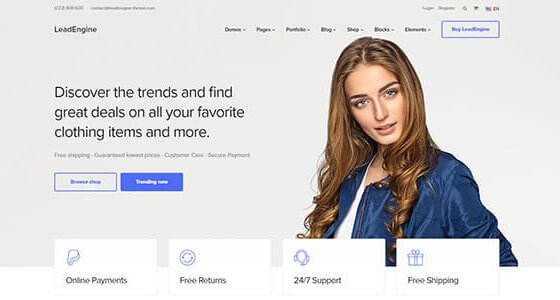 LeadEngine WordPress Theme