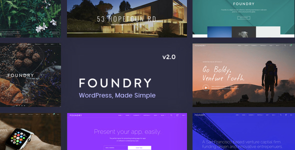 Foundry WordPress Theme