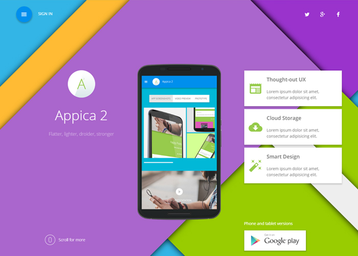Appica 2 WordPress Theme