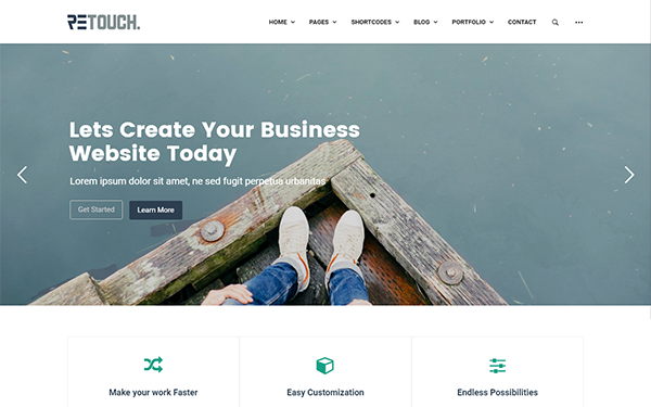 ReTouch WordPress Theme