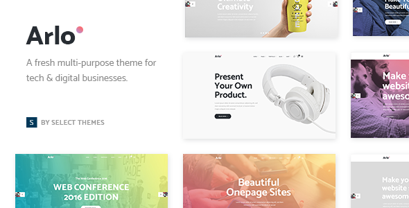 Arlo WordPress Theme