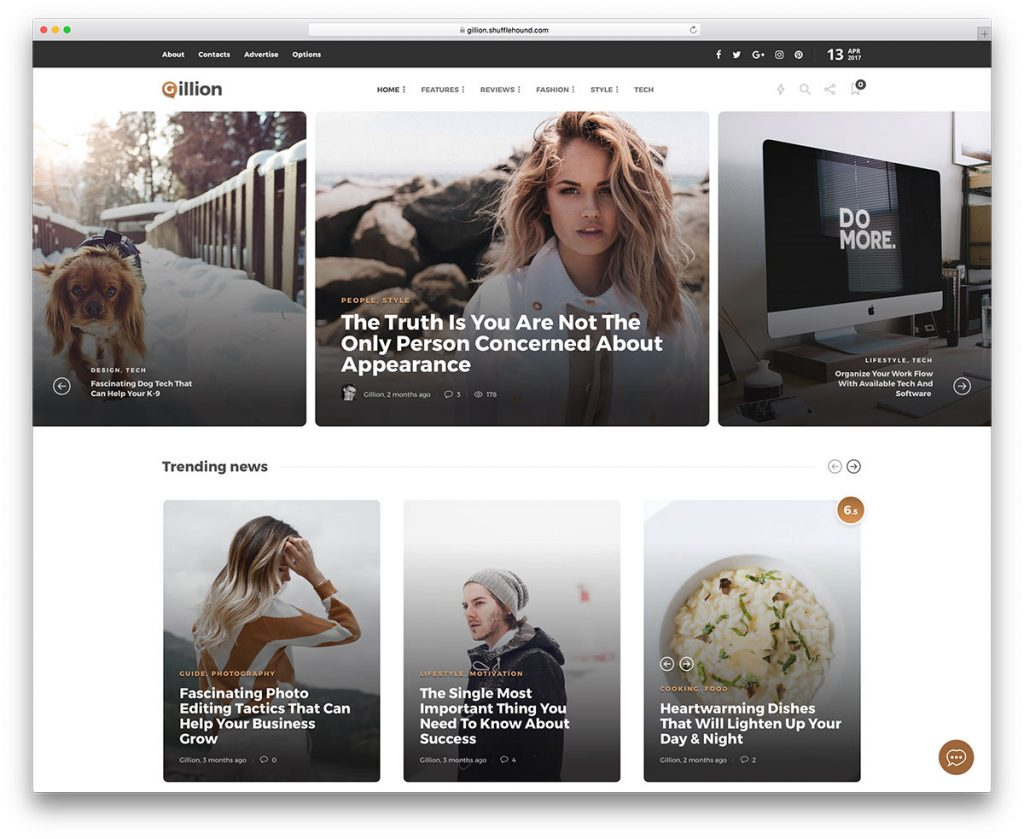 Composer WordPress Theme