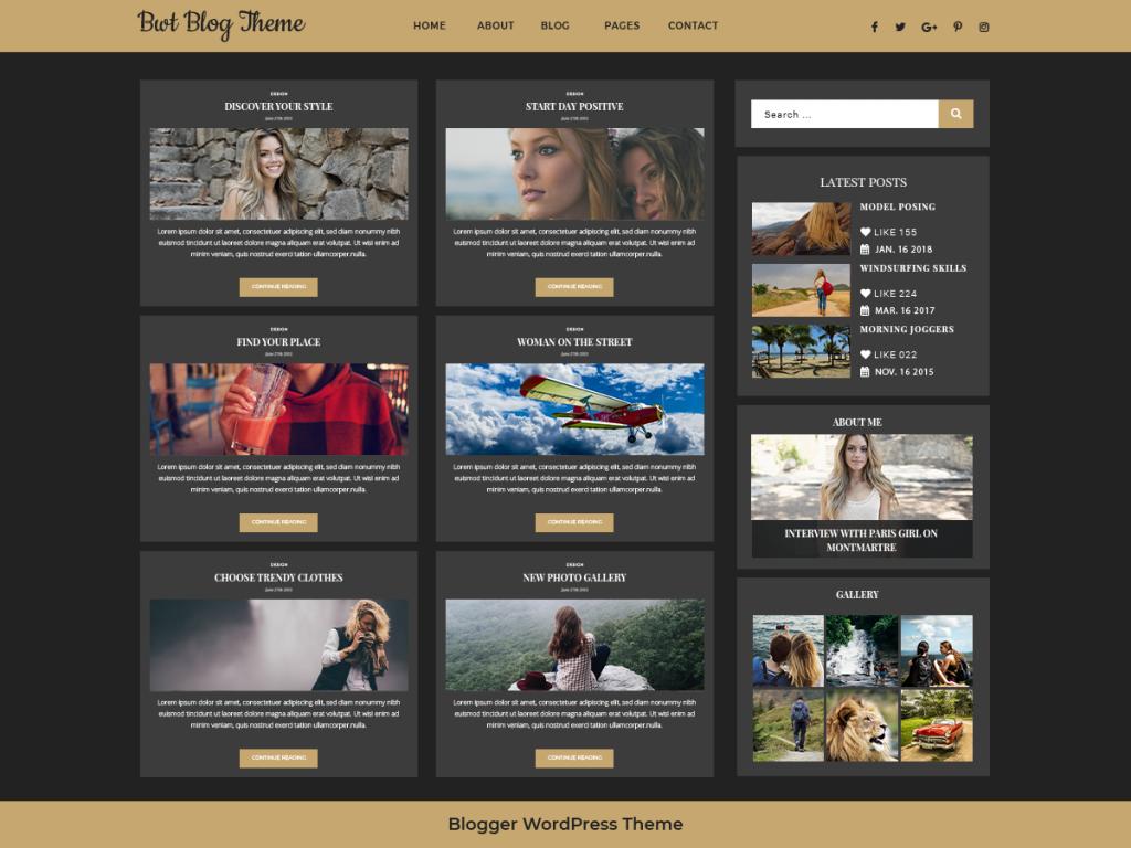 Ultimate Blogger Theme