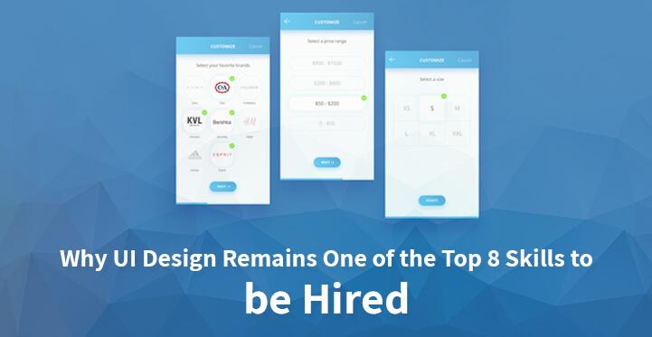 top 8 skills UI design to hire