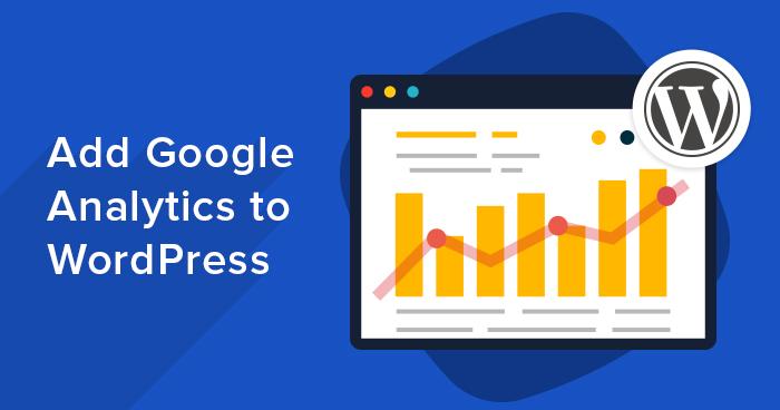 add google analytics in WordPress website