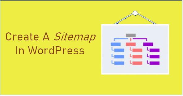 create a sitemap in WordPress