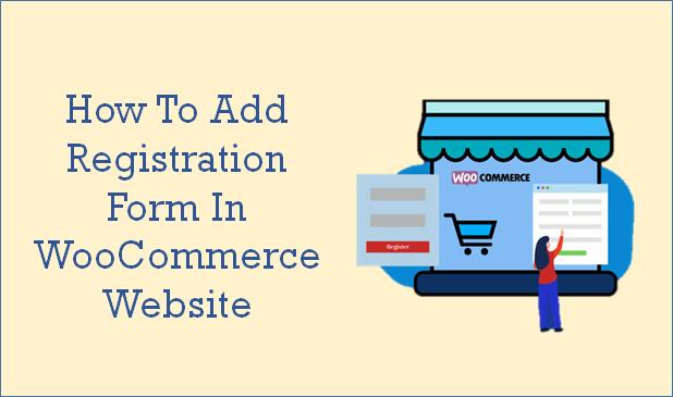registration form woocommerce stores