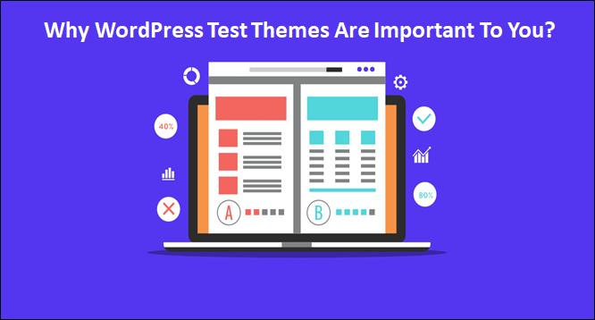 WordPress test themes