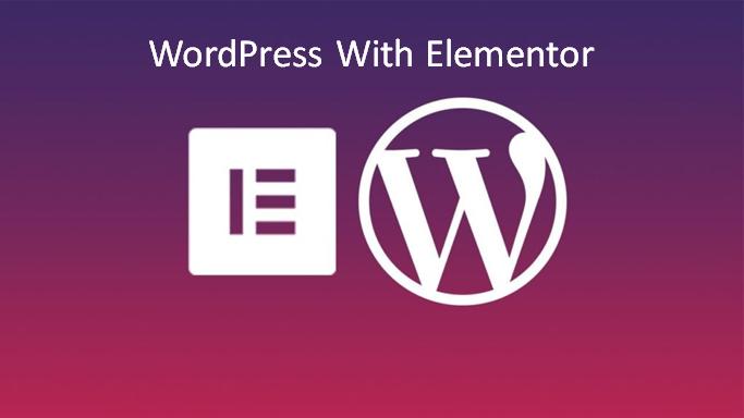 WordPress with elementor