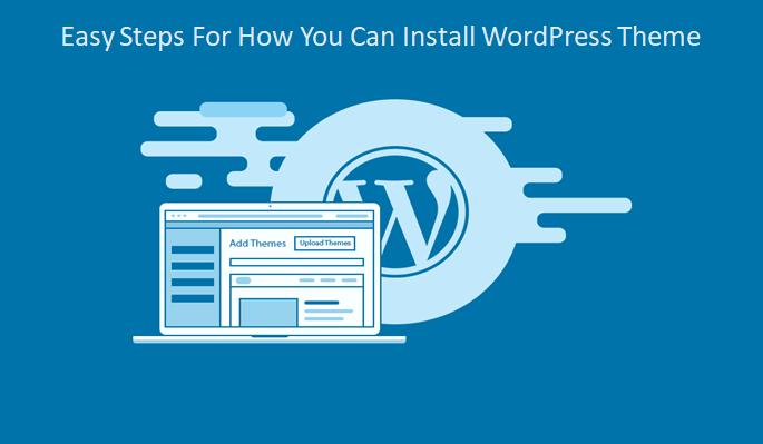 install WordPress theme